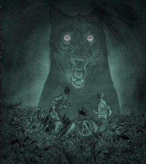 wolven Ward Zwart